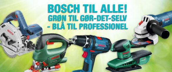 Blå Bosch til den professionelle håndværker
