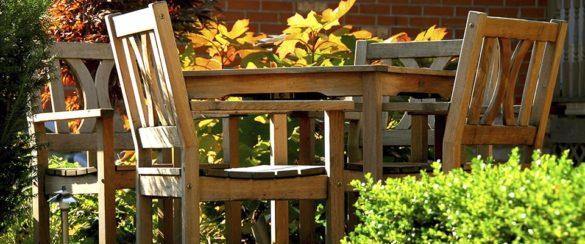 beskyt og plej dine havemøbler