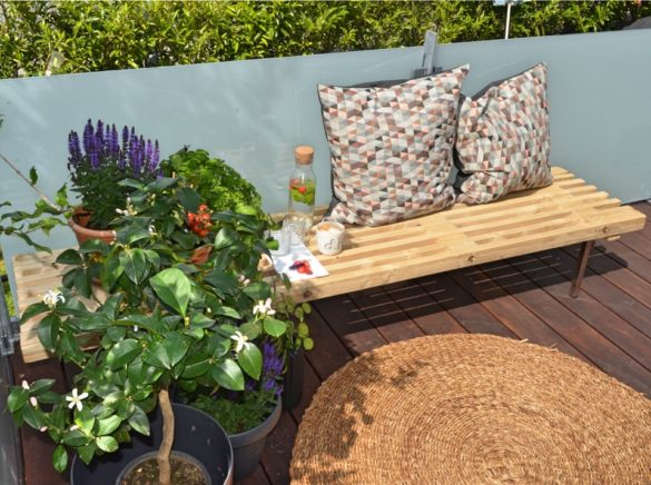 Lav din egen DIY daybed af en tralle