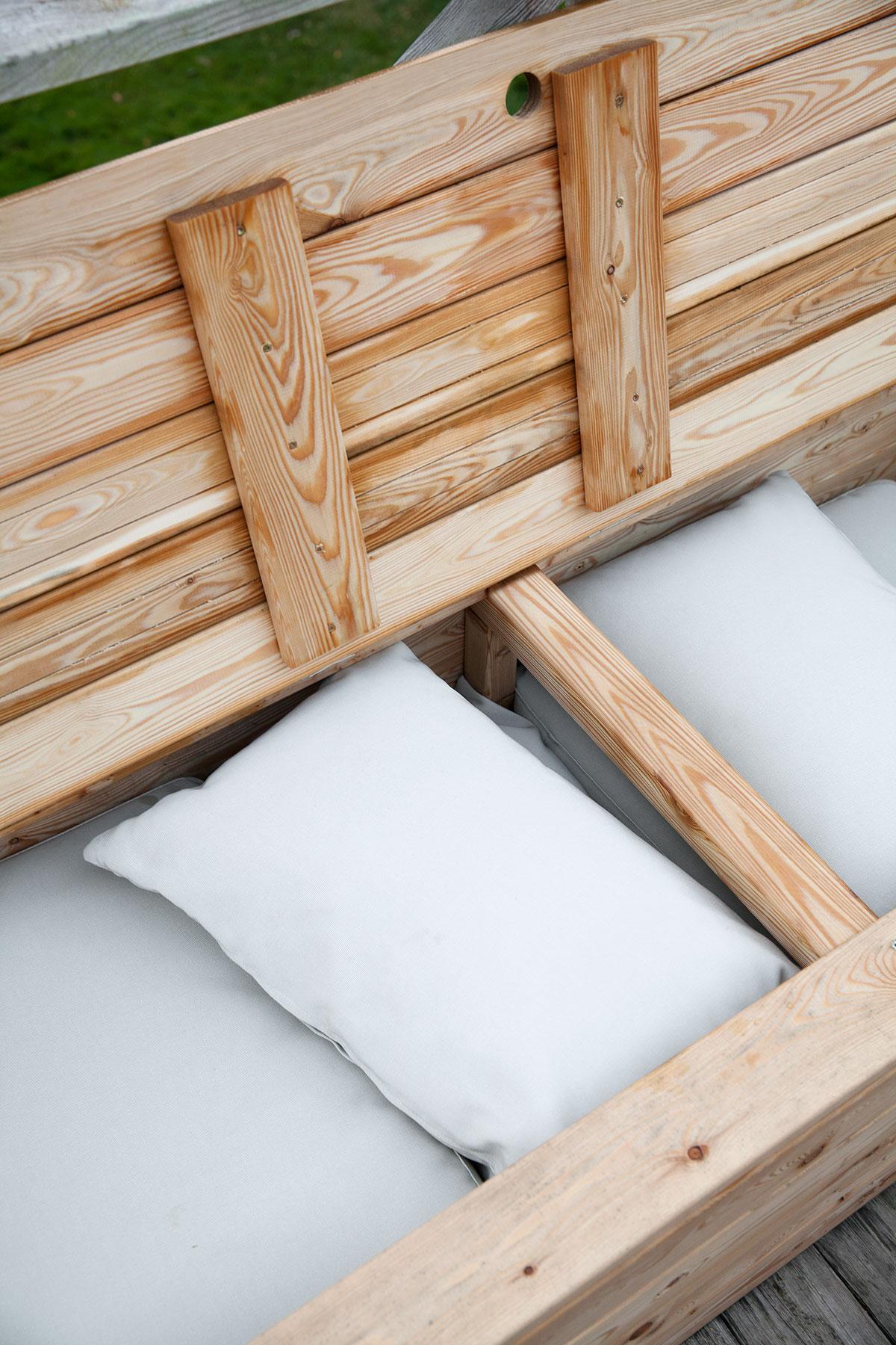 Loungemøbler med skuffer
