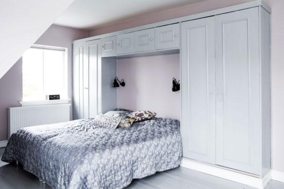 Soveværelse sat i stand