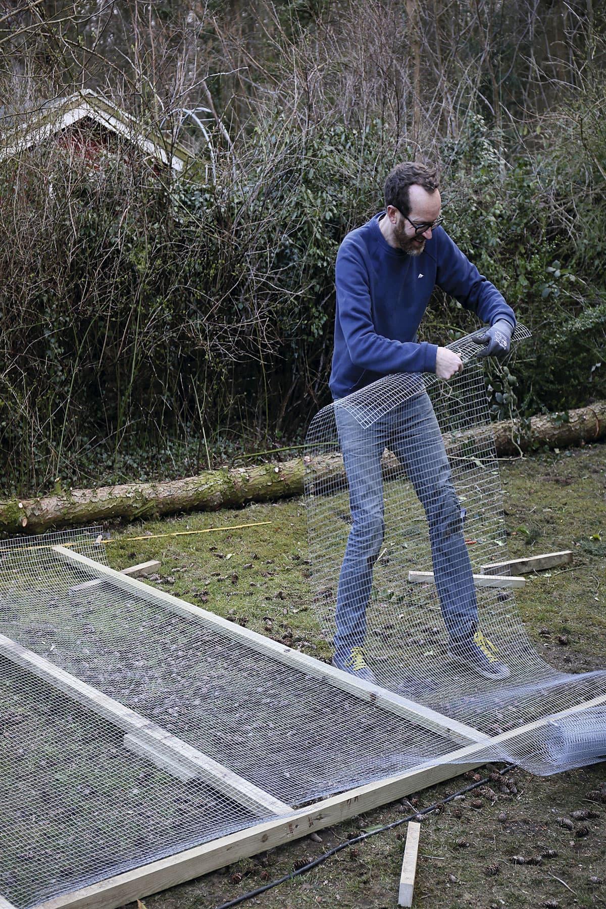 Byg hønsegårdens fire vægge