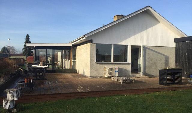 Førbillede uden terrassen og udekøkken