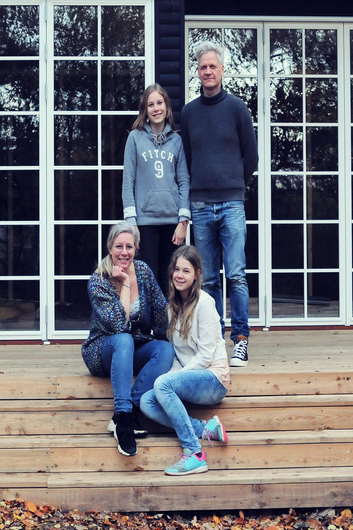 Familie med anneks