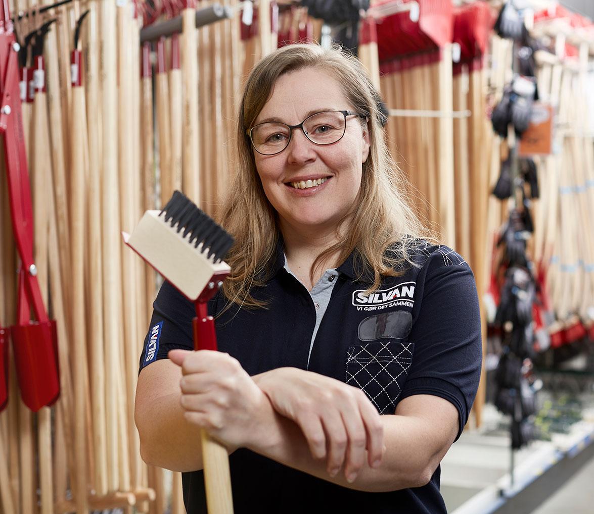 Indkøbskoordinator i Silvan Mai-Britt Sloth Hansen ved alt om ukrudt