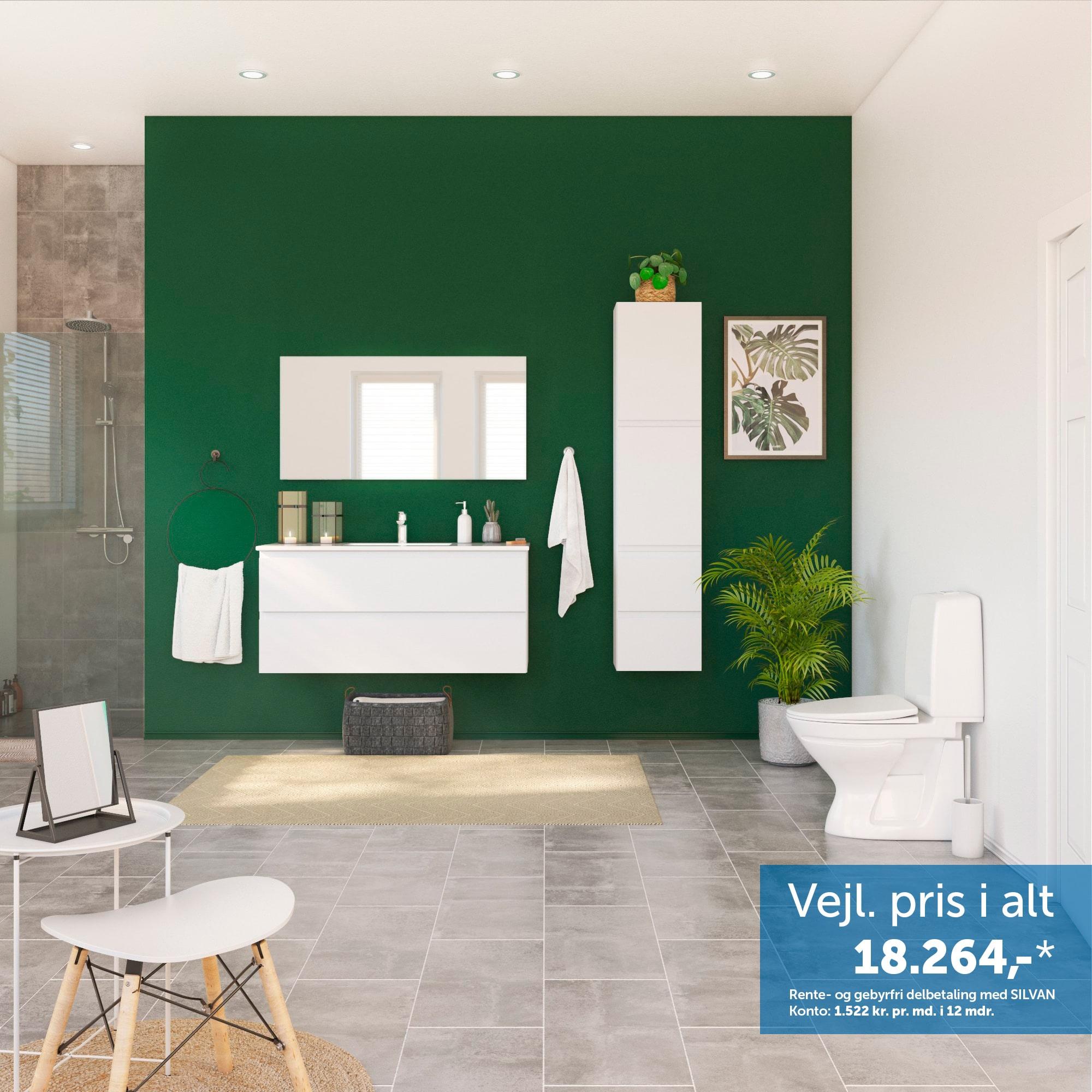 Inspiration til det store badeværelse