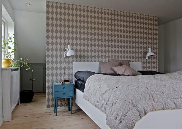 Soveværelse med separat garderobe