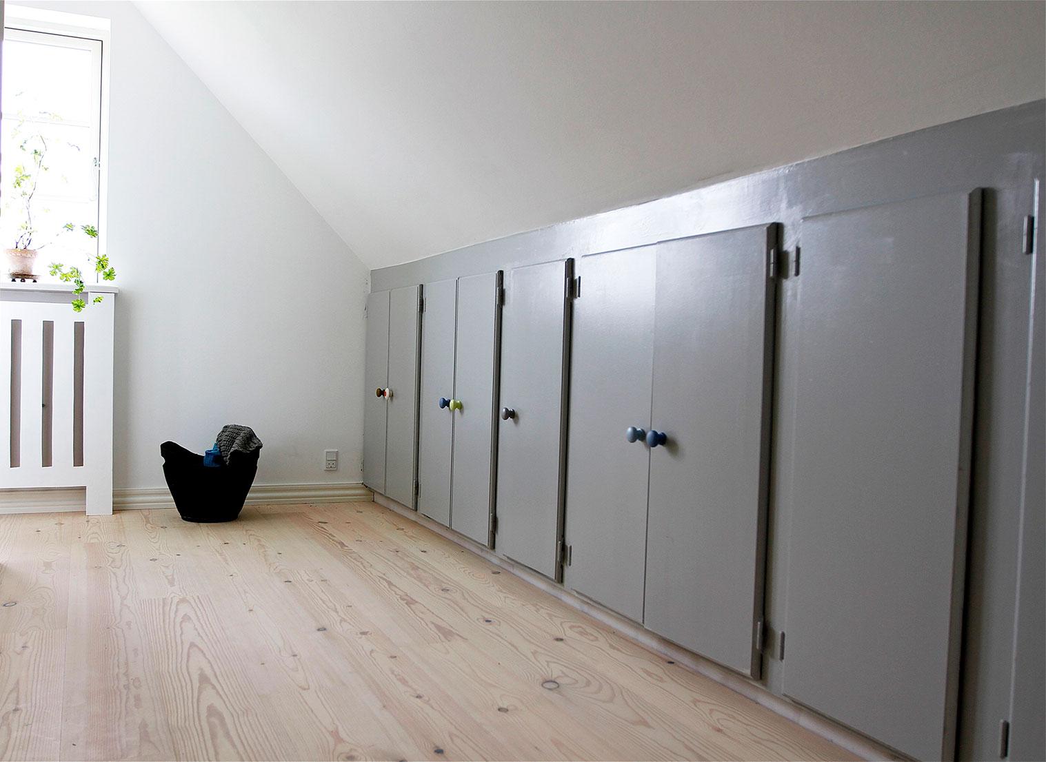 Garderobeplads i soveværelse