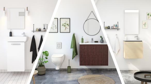 Inspiration til det lille badeværelse