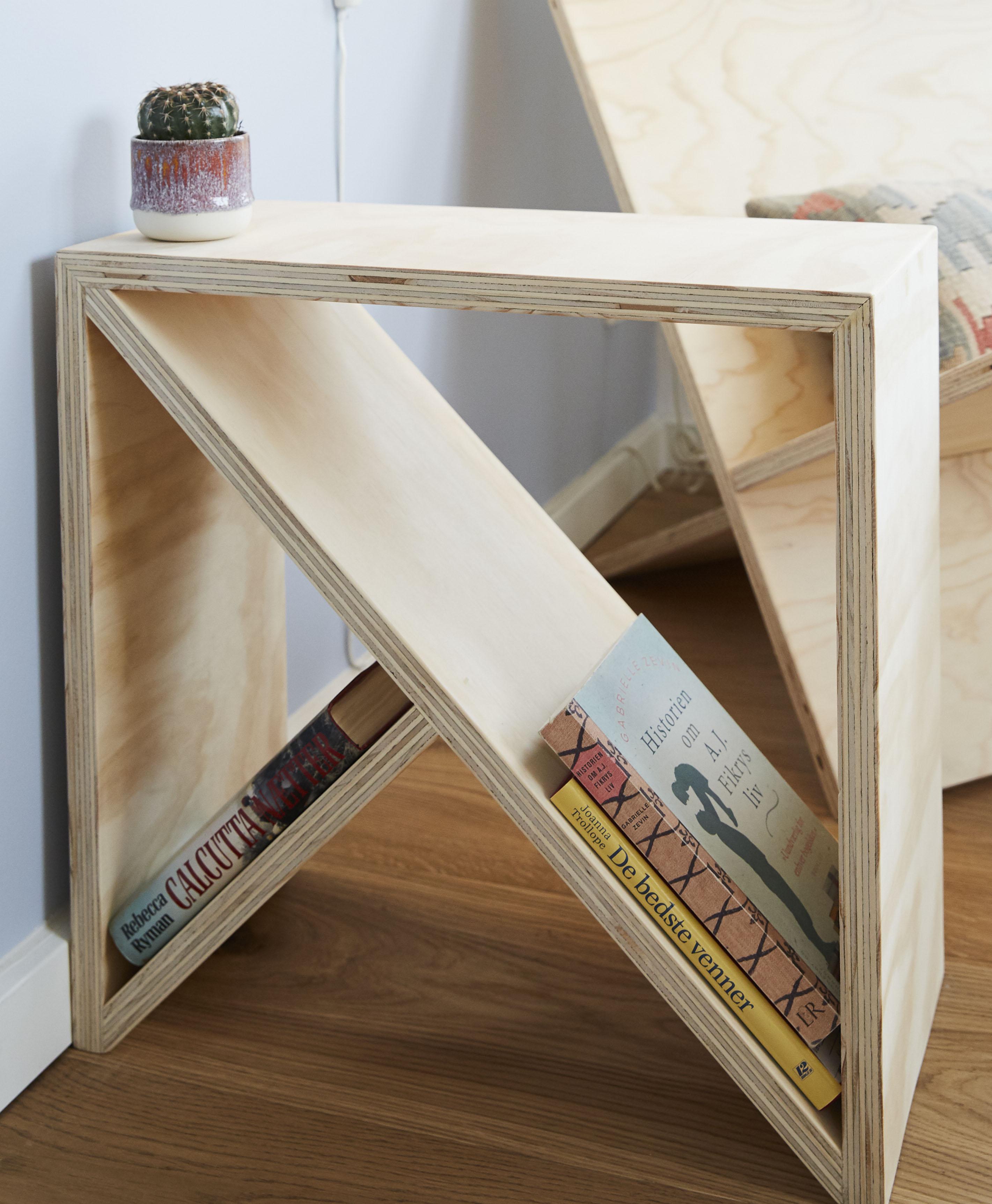 Kaffebord med magasinholder