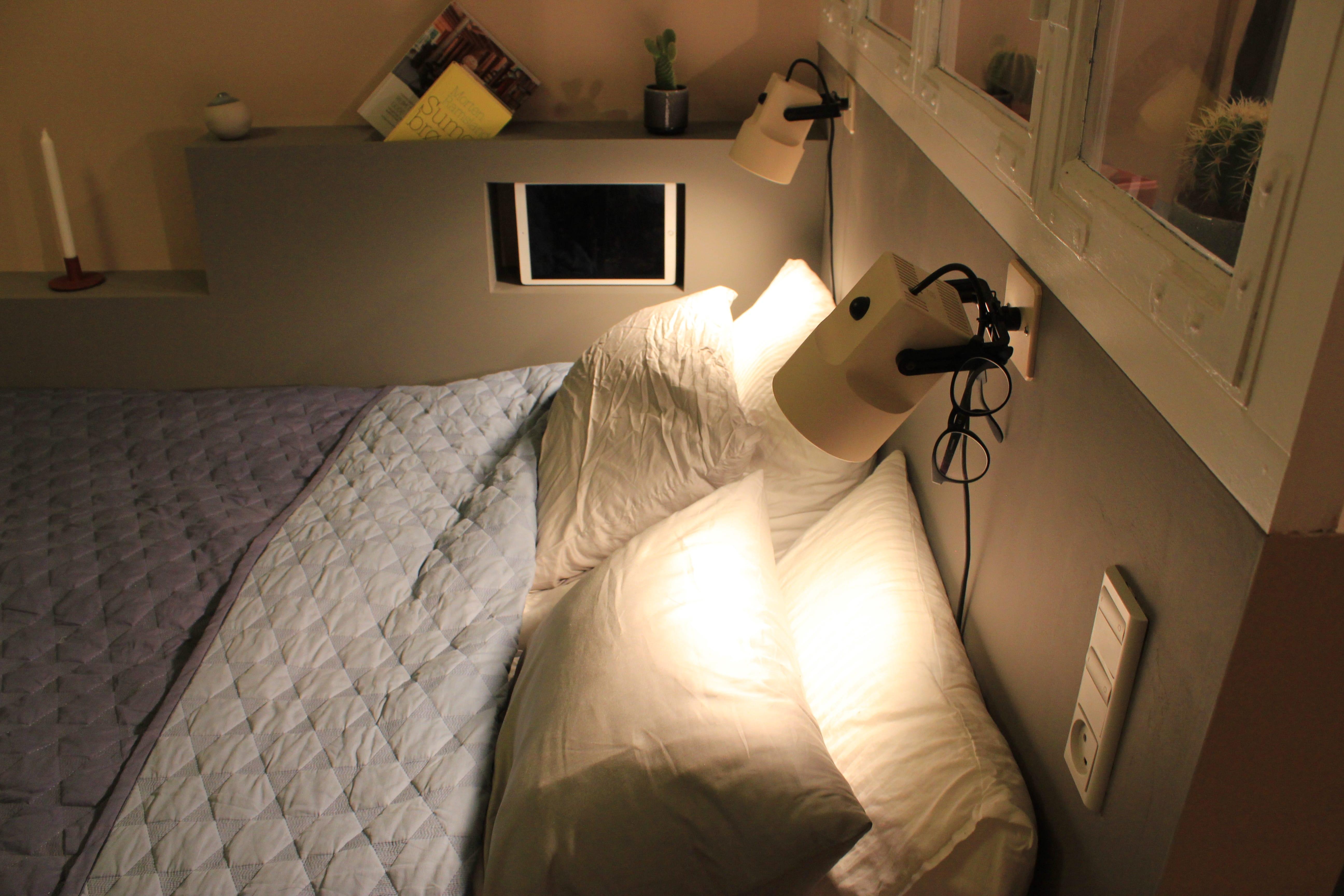 Sidegavl til seng