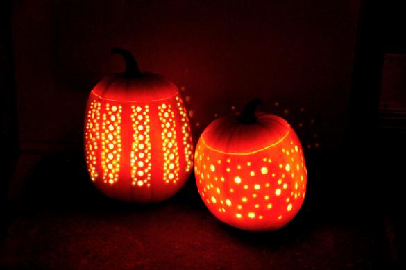 kreative græskar til Halloween