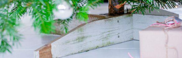 Juletræsfod banner