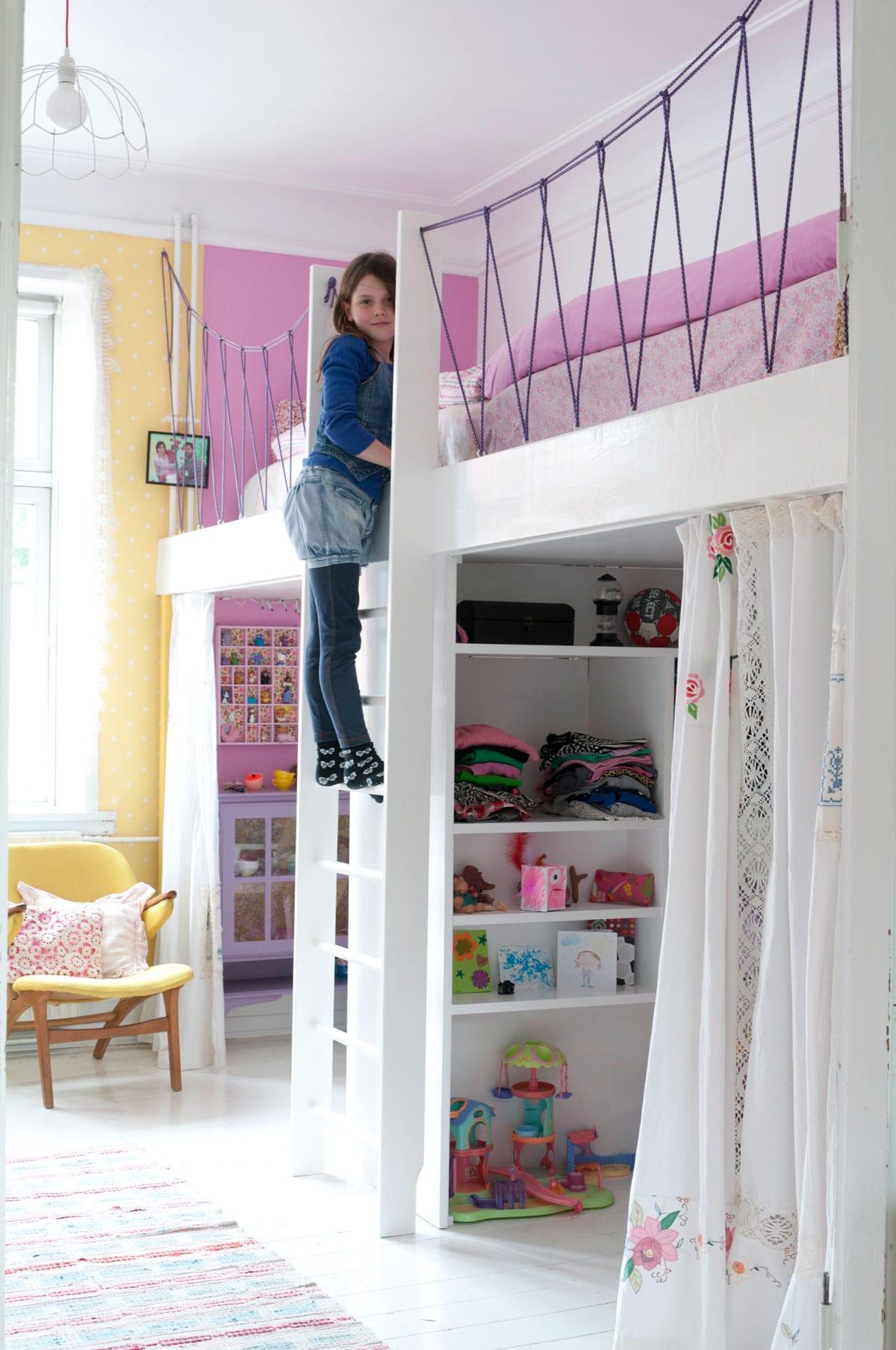 Udvid børneværelset med en hems