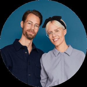 Stine og Kenneth indretter blåt hus i Nybyggerne sæson 5