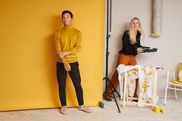 Ida og Mads bygger i gult hus i Nybyggerne sæson 5