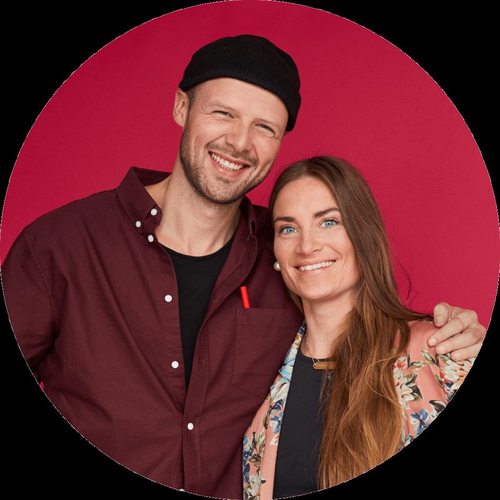 Sif og Mathias indretter rødt hus i Nybyggerne sæson 5