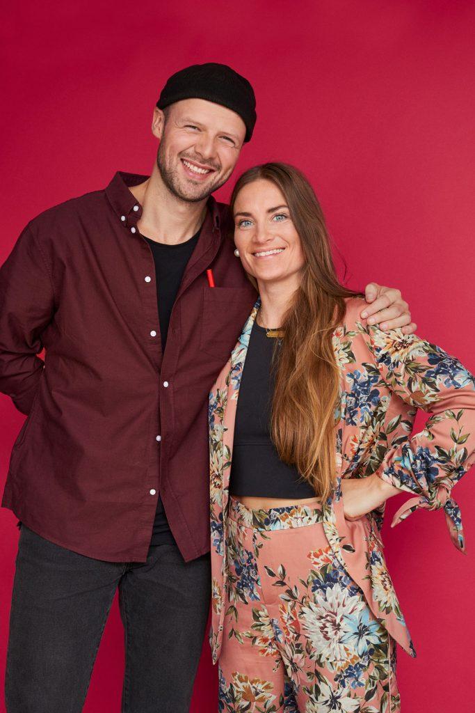 Sif og Mathias bygger rødt hus i sæson 5 af Nybyggerne