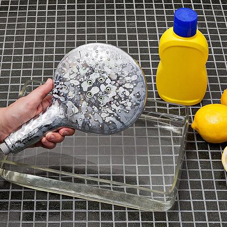Hansgrohe - rengøring af bruser