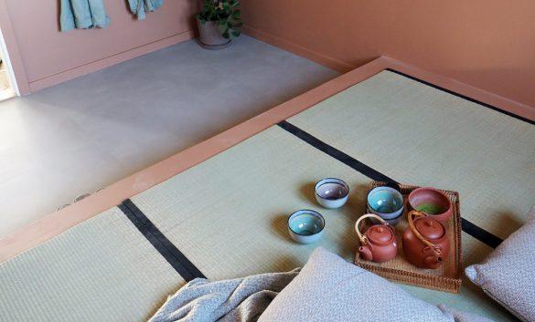 Møbel med tatami-måtter